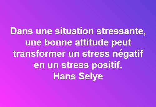 gérer le stress - hans selye